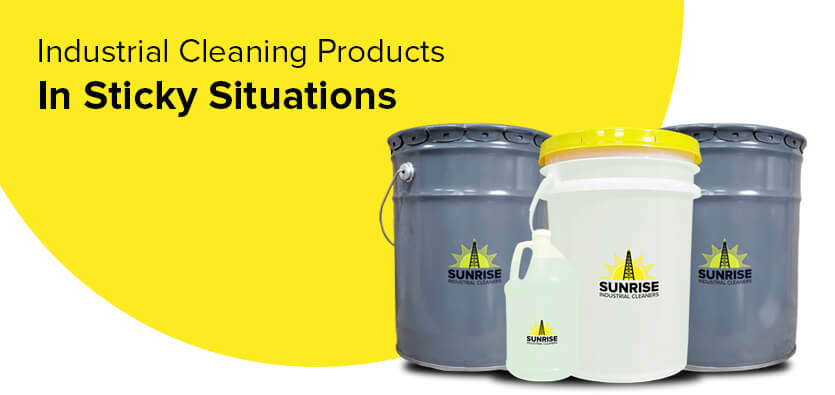 Using Industrial Cleaning Products In Sticky Situations
