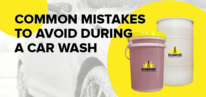 Common Mistakes To Avoid During A Car Wash