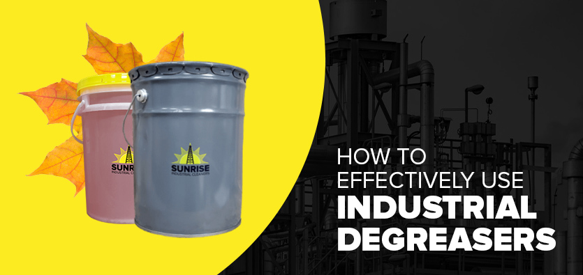 How To Effectively Use Industrial Degreasers
