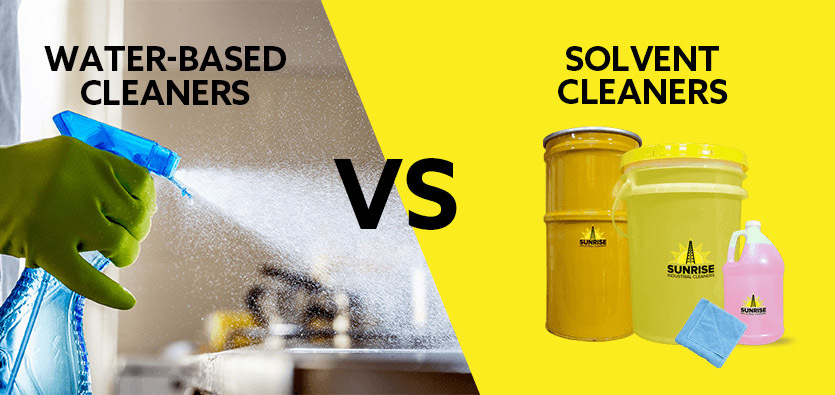 Water-Based Vs. Solvent-based Cleaners: Which One Should You Buy?